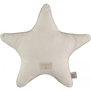 aristote-star-cushion-coussin-etoile-cojin-estrella-natural-honeycomb-nobodinoz-lecrazykids