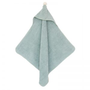 so-cute-baby-bath-cape-green-capa-verde-cape-vert-hanging-nobodinoz-lecrazykids